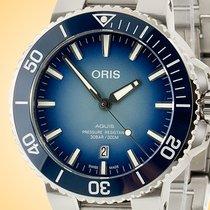 Oris Aquis Date Steel 43.5mm Blue Arabic numerals United States of America, Illinois, Northfield
