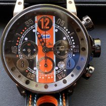 B.R.M V12-44 B.R.M GULF V12 44 BN CN LAST EDITION N2/5 Ny Stål 44mm Automatisk