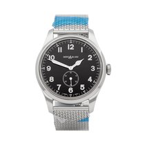 Montblanc Steel 44mm Manual winding 112639 new