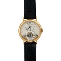 Breguet pre-owned Manual winding 35mm Silver Sapphire crystal Not water resistant