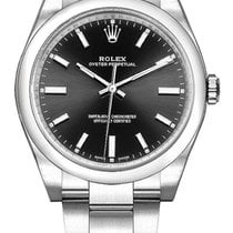 Rolex Oyster Perpetual 34 Steel 34mm Black United States of America, California, Moorpark