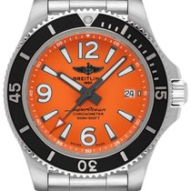Breitling Superocean 42 new Automatic Watch with original box A17366D71O1A1