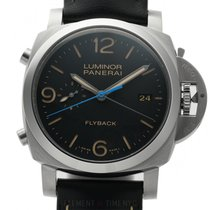 Panerai Luminor 1950 3 Days Chrono Flyback new Automatic Chronograph Watch with original box and original papers PAM 524