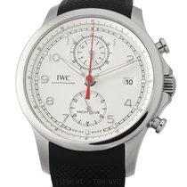 IWC Portugieser Yacht Club Chronograph IW3905-02 Sehr gut Stahl 44mm Automatik