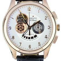 Zenith Rose gold Automatic Champagne 44mm pre-owned El Primero