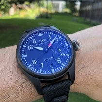 IWC Big Pilot Top Gun Titanio 48mm Negro Arábigos
