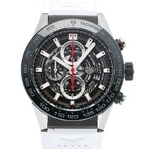 TAG Heuer CAR2A1Z.FT6051 Steel 2019 Carrera Calibre HEUER 01 45mm pre-owned