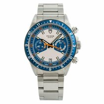 Tudor Heritage Chrono Blue Steel 45mm Blue No numerals United States of America, New York, New York