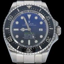 Rolex Sea-Dweller Deepsea Acier 44mm Bleu Sans chiffres Belgique, Brussel