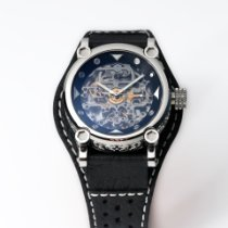 H.I.D. Watch Stahl 40mm Automatik M010311 – Intaglio Edition (Dark Grey Bezel) neu