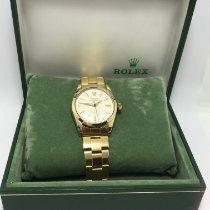 Rolex Oyster Perpetual Sarı altın 34mm Beyaz Rakamsız Türkiye, istanbul