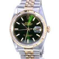 Rolex 16233 Goud/Staal 1993 Datejust 36mm tweedehands Nederland, Katwijk aan zee