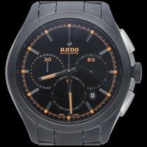 Rado HyperChrome Chronograph occasion 45mm Noir Chronographe Date Céramique