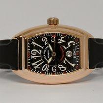 Franck Muller 8005 sc Oro rosa 2005 Conquistador 40mm usados