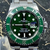 Rolex Submariner Date Staal 40mm Groen Geen cijfers Nederland, Rotterdam