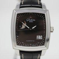 Glashütte Original Senator Karrée neu 2020 Automatik Uhr mit Original-Box und Original-Papieren 1-39-41-54-52-04
