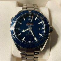 Omega Titanium Automatisch Blauw Arabisch 45,5mm tweedehands Seamaster Planet Ocean