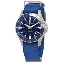Hamilton Khaki Navy Scuba Steel 40mm Blue United States of America, California, Los Angeles