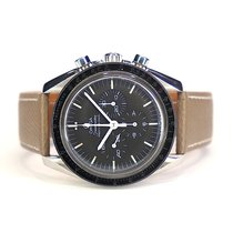 Omega Speedmaster Professional Moonwatch Steel 39.7mm Black No numerals