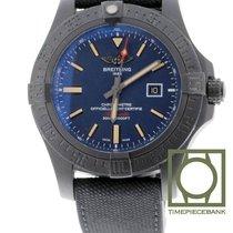Breitling Avenger Blackbird Титан 48mm Синий