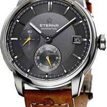Eterna Steel 42mm Automatic 7661.41.56.1352 new United States of America, New York, Suffern