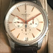 Zenith Captain Chronograph Steel 42mm Silver No numerals United States of America, Florida, Fort Lauderdale
