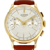 Leonidas Gold/Steel 34mm Manual winding 296965 pre-owned