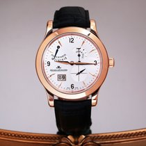Jaeger-LeCoultre Master Eight Days Aur roz 41.5mm Argint Arabic