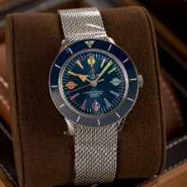 Breitling Superocean Héritage Steel 42mm Blue No numerals United States of America, Wisconsin, Franklin