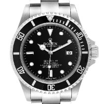 Rolex Steel Automatic Black 40mm pre-owned Sea-Dweller 4000