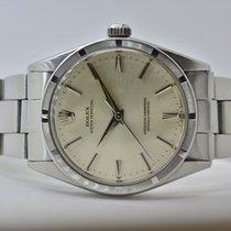 Rolex Oyster Perpetual 34 Stahl 34mm Silber Keine Ziffern Deutschland, Iffezheim