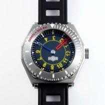 H.I.D. Watch Stahl 46mm Automatik M010211 (1,000ft~304.8m) Diver's Watch + P010208SS/SS (Outer Case) neu