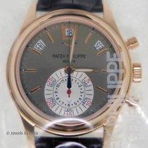 Patek Philippe Annual Calendar Chronograph Oro rosa 40mm Plata