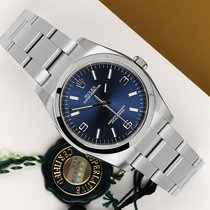 Rolex Oyster Perpetual 36 Сталь 36mm Синий