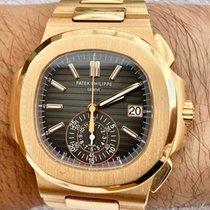 Patek Philippe Nautilus Rose gold 40.5mm Black No numerals