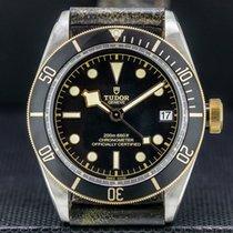 Tudor Black Bay S&G Yellow gold 41mm Black Arabic numerals United States of America, Massachusetts, Boston