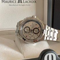 Maurice Lacroix AIKON Stahl 44mm Silber Schweiz, Arbon