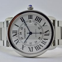 Cartier Ronde Solo de Cartier W6701011 Sehr gut Stahl 42mm Automatik Deutschland, Iffezheim