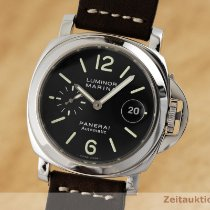 Panerai Acier Remontage automatique Noir 44mm occasion Luminor Marina Automatic