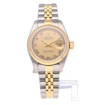 Rolex 69173 Goud/Staal 1991 Lady-Datejust 26mm tweedehands Nederland, Amsterdam