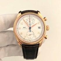 IWC Portuguese Chronograph Růžové zlato 42mm Stříbrná Arabské Slovensko, Bratislava