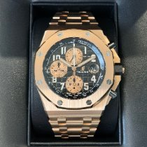 Audemars Piguet Royal Oak Offshore Chronograph Or rose 42mm Noir Arabes