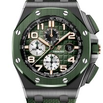 Audemars Piguet Céramique Remontage automatique Vert Arabes 44mm nouveau Royal Oak Offshore Chronograph