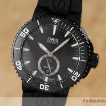 Oris Aquis Titan Titanium 46mm Black