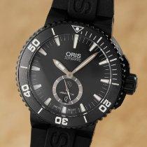 Oris Aquis Titan pre-owned 46mm Black Date Rubber