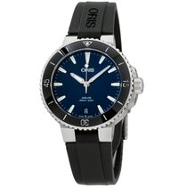 Oris Aquis Date Steel 36.5mm Blue United States of America, New Jersey, Somerset