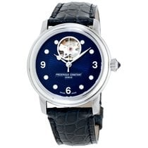 Frederique Constant Ladies Automatic Heart Beat Steel 34mm Blue Arabic numerals United States of America, New Jersey, Somerset