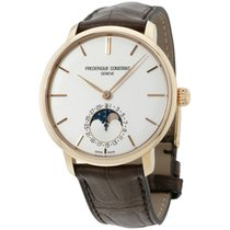 Frederique Constant Manufacture Slimline Moonphase Steel 42mm Silver United States of America, New Jersey, Somerset