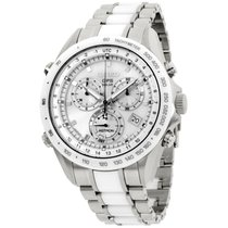 Seiko Astron GPS Solar Chronograph Steel 48mm Silver United States of America, New Jersey, Somerset