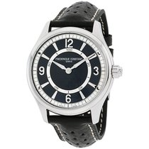 Frederique Constant Horological Smartwatch Steel 42mm Black Arabic numerals United States of America, New Jersey, Somerset
